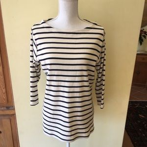 LL Bean classic French sailor top